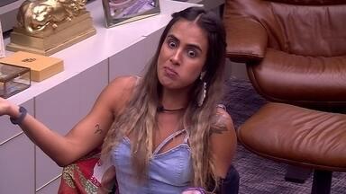 Carolina diz para Alan: 'Não pode querer que você jogue da forma que ela pensa' - Carolina diz para Alan: 'Não pode querer que você jogue da forma que ela pensa'