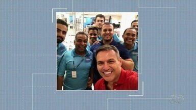 Telespectadores enviam fotos para o Bom Dia Goiás - Eles fazem questão de registrar que acompanham o telejornal.