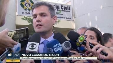 Daniel Rosa assume Delegacia de Homicídios - O delegado é o responsável pela segunda fase da investigação que apura as mortes da vereadora Marielle Franco e do motorista Anderson Gomes.