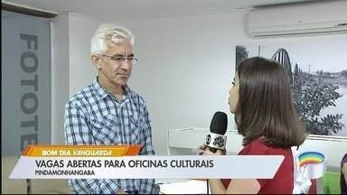 Pinda tem vagas abertas para oficinas culturais - São oferecidas mais de 700 vagas.