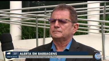 DNOCS monitora barragens no Piauí - DNOCS monitora barragens no Piauí