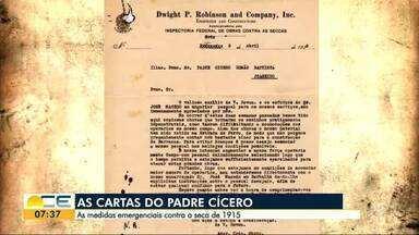 Cartas revelam pedidos de socorro feitos por Padre Cícero em 1915 - Além de pedir recursos, o religioso sugeria a construção de reservatórios.