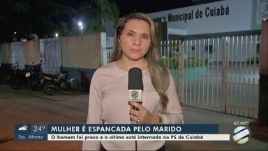 Mulher é espancada e tem o braço quebrado pelo companheiro em Cuiabá - Mulher é espancada e tem o braço quebrado pelo companheiro em Cuiabá