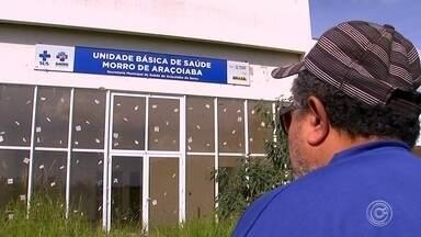 UBS deveria funcionar em prédio abandonado em Araçoiaba da Serra - Um prédio, em Araçoiaba da Serra (SP), é o local onde deveria estar funcionado, há muito tempo, uma Unidade Básica de Saúde (UBS).