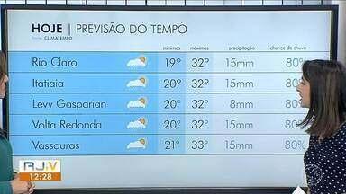 Meteorologia prevê sol e poucas nuvens em todo Sul do Rio - Há possibilidade de chuva isolada durante a tarde.