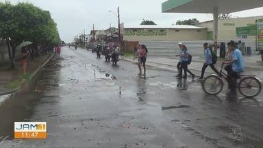Justiça e moradores cobram sinalização em Parintins - Falta de sinalização tem afetado a rotina das pessoas.