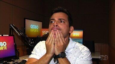 Vc vê no GE! Caras e bocas nas quartas de final do Goianão! - Primeira rodada do mata-mata tem lances curiosos e torcedor da Aparecidense chamando atenção no Anníbal Batista de Toledo.