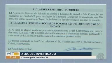 CPI pode ser aberta para investigar pagamento de aluguel de secretaria - CPI pode ser aberta para investigar pagamento de aluguel de secretaria.