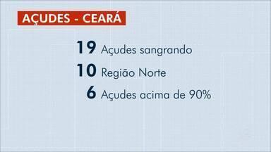 Situação dos açudes no Ceará - Outras informações no g1.com.br/ce