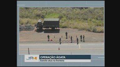 Operação Ágata mobiliza militares nas fronteiras de SC e PR - Operação Ágata mobiliza militares nas fronteiras de SC e PR