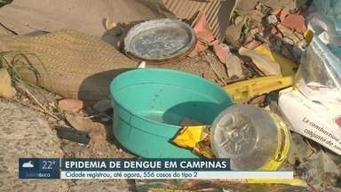 Saúde de Campinas confirma nova epidemia de dengue - Cidade contabilizou 556 casos da enfermidade até 20 de março.