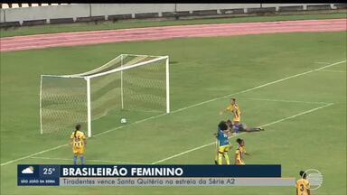 Tiradentes-PI vence Santa Quitéria por 7 a 3 na estreia do Brasileiro - Tiradentes-PI vence Santa Quitéria por 7 a 3 na estreia do Brasileiro