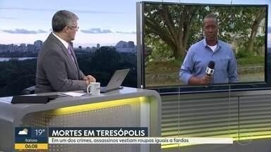 Duas pessoas são mortas em Teresópolis - Em um dos crimes, os assassinos vestiam roupas iguais a fardas militares.