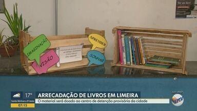 Limeira faz arrecadação de livros para doação ao Centro de Detenção Provisória - A campanha começa nesta segunda-feira (01). O CDP abriga 1.375 detentos.