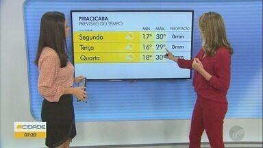 Campinas tem máxima de 29° C nesta segunda-feira (01) - Confira a previsão do tempo de Campinas (SP) e região.