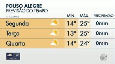 Confira a previsão do tempo em Pouso Alegre, MG - Confira a previsão do tempo em Pouso Alegre, MG
