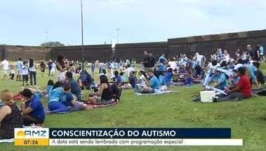 Amanhã é comemorado o dia Mundial de conscientização do autismo - Data está sendo lembrada com uma programação que acontece desde a sexta-feira em Macapá.
