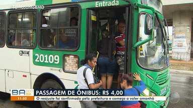 Passagens de ônibus ficam mais caras a partir dessa terça (2) em Salvador - Confira os detalhes da passagem que vai custar R$ 4.