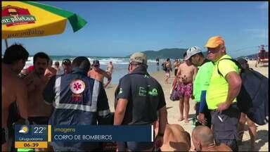 Competidor gaúcho morre em Florianópolis durante prova de travessia neste sábado (30) - Apesar dos primeiros socorros, ele não resistiu.