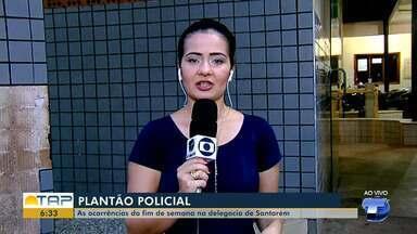 Veja o giro com as notícias da área policial desta segunda-feira no Bom dia Tapajós - Casos foram registrados na 16º Seccional de Polícia Civil. Confiras as principais notícias da área policial desta segunda (1º).