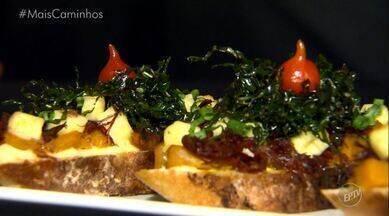 Bruschetta mineira: Histórias e Sabores mistura Itália com Minas Gerais! - Fernando Kassab está no sul de Minas para mostrar uma receita de Bruschetta, um prato tradicional italiano, mas com ingredientes vindos direto de Minas Gerais!