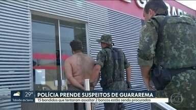 Polícia prende mais 3 suspeitos de envolvimento com tentativas de roubo em Guararema - Homem foi preso mais cedo. Na sequência, irmã e namorada dele foram detidas também.