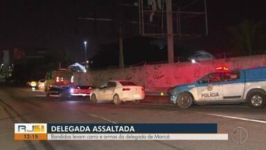 Bandidos levam carro e armas na delegada de Maricá, no RJ - Caso aconteceu na noite desta quinta-feira (4).