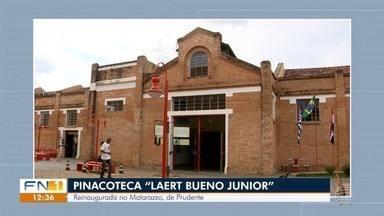Confira os destaques da agenda cultural para esta sexta-feira - Pinacoteca é reinaugurada no Centro Cultural Matarazzo, na Vila Marcondes, em Presidente Prudente.