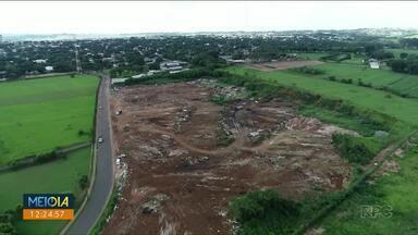 Imagens aéreas do Lixão da Vila Operária em Paranavaí revelam o tamanho do problema - Lixão da Vila Operária em Paranavaí deve ser encerrado até o fim do ano