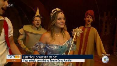 Espetáculo 'Wicked em Oz' estreia neste sábado (06) em Petrolina - Confira a agenda cultural do fim de semana.