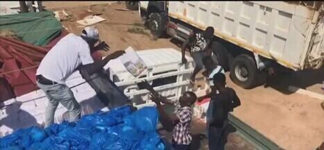 De volta a Uberlândia, integrantes da ONG Missão África falam sobre trabalho em Moçambique - A TV Integração tem acompanhado as ações dos voluntários desde o fim de semana do desastre ambiental. Moçambique foi um dos mais devastados pelo ciclone Idai.