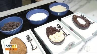 Dieta Low Carb faz sucesso durante a páscoa na preparação de doces em Ipatinga - Cozinheira ensina como preparar guloseimas com base na dieta.