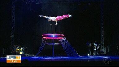 Cirque Amar se apresenta em João Pessoa - O Cirque está montado no Aeroclube, no Bessa.