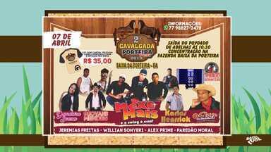 Agenda: confira os eventos rurais que acontecem em toda a Bahia - Confira os destaques da semana.