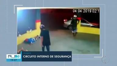 Bandidos armados assaltam lanchonete em Campos, no RJ - Assista a seguir.