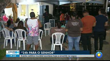 JPB2JP: Evento católico mundial acontece hoje e amanhã no Centro de João Pessoa - 24 horas para o Senhor.