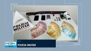 Jovens são detidos por tráfico em GV; eles usavam câmeras para monitorar chegada da PM - Eles foram detidos no Bairro Figueira após denúncias anônimas; PM apreendeu duas câmeras, dinheiro, drogas e material usado para embalar entorpecente.
