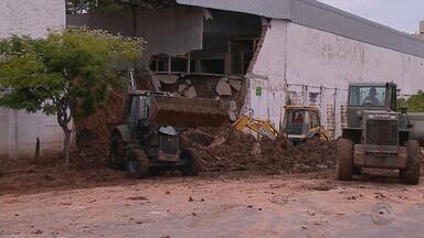Chuva causa estragos na região central do Rio Grande do Sul - Assista ao vídeo.