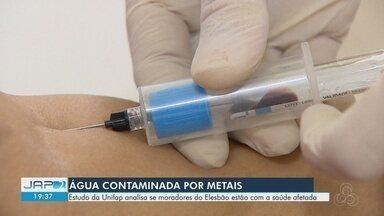 Estudo acha água contaminada por metais e analisa impacto na saúde de moradores no AP - Alvo de pesquisadores da Unifap são moradores do Elesbão, em Santana.