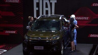 Gabriela desiste da Prova de Resistência Fiat Toro - Sister desiste de prova