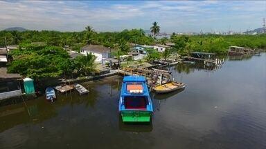 Conheça a ilha de Santos onde moram aproximadamente 60 famílias - A Ilha Diana preserva a cultura caiçara e seus habitantes não saem de lá por nada.