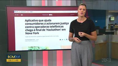 Equipe de Curitiba participa de competição mundial em tecnologia aplicada - A competição é em Nova Iorque