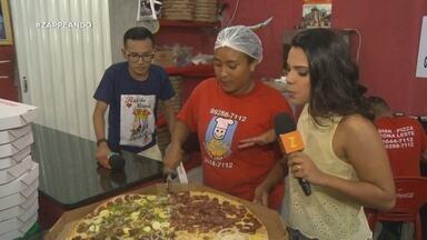 Parte 3: E ainda tem pizza gigante - Parte 3: E ainda tem pizza gigante