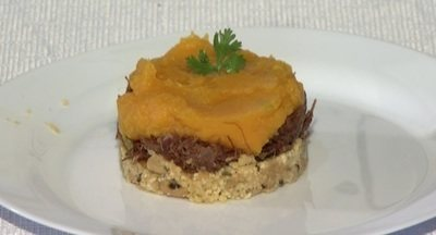 Aprenda a preparar Mala Velha, com a receita do chef Tiago Araújo - A receita tem história ligada à estrada de ferro Belém-Bragança.