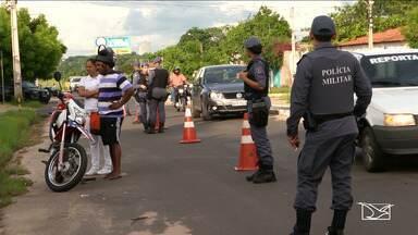 PM intensifica fiscalizações nas ruas de Timon - Resultado da operação é o aumento no número de veículos roubados que foram recuperados.