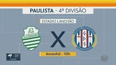 Confira a rodada dos times da região de Ribeirão Preto, SP - Veja a data dos jogos da Série A3 e 4ª divisão.