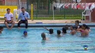 Sesi de Araçatuba promove atividades esportivas para toda família - O Sesi de Araçatuba (SP) está com várias atividades esportivas programadas pra família toda.