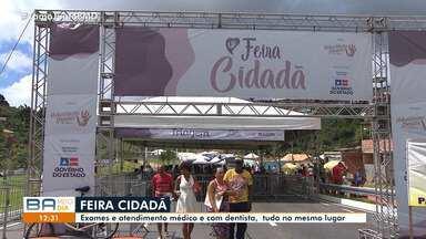 Feira oferece serviços de saúde gratuitos no bairro de Cajazeiras - Consultas médicas e odontológicas são realizadas neste sábado (6), até às 17h,