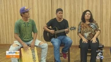 Cantora Letícia Stair apresenta projeto de MPA - Mesmo voltada para o pop rock, a cantora também dá seu toque nas canções regionais.