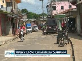 Eleição suplementar para prefeito de Caapiranga acontece neste domingo (7) - Prefeito eleito foi cassado pelo TSE.